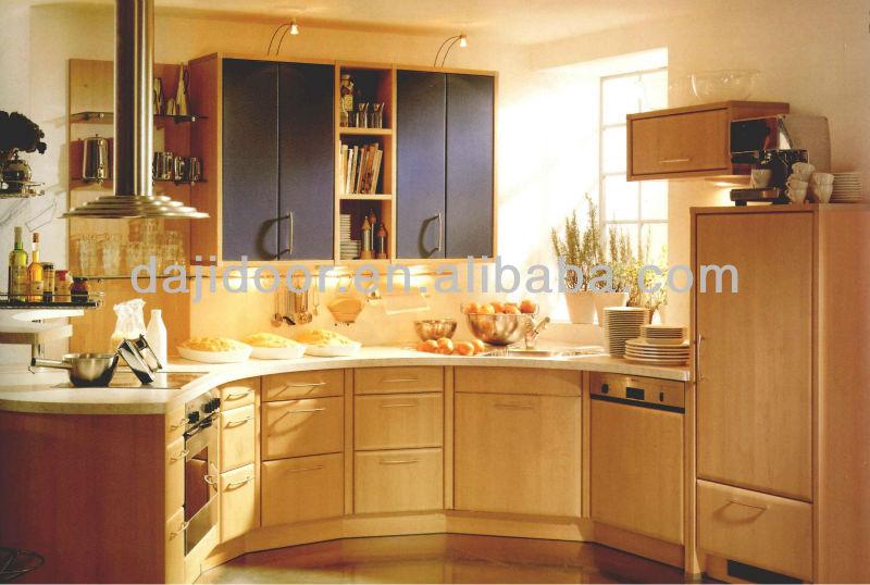 Round Corner Kitchen Design Small Kitchens Dj K072 Cabinet Door Models Product On Alibaba