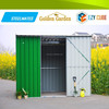 New Zealand design metal structure shed with galvanized steel sheet