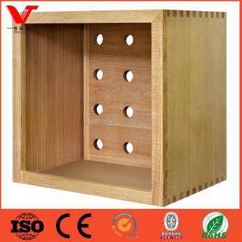 Wooden Wine Cube And Wood Display Cubes Furniture