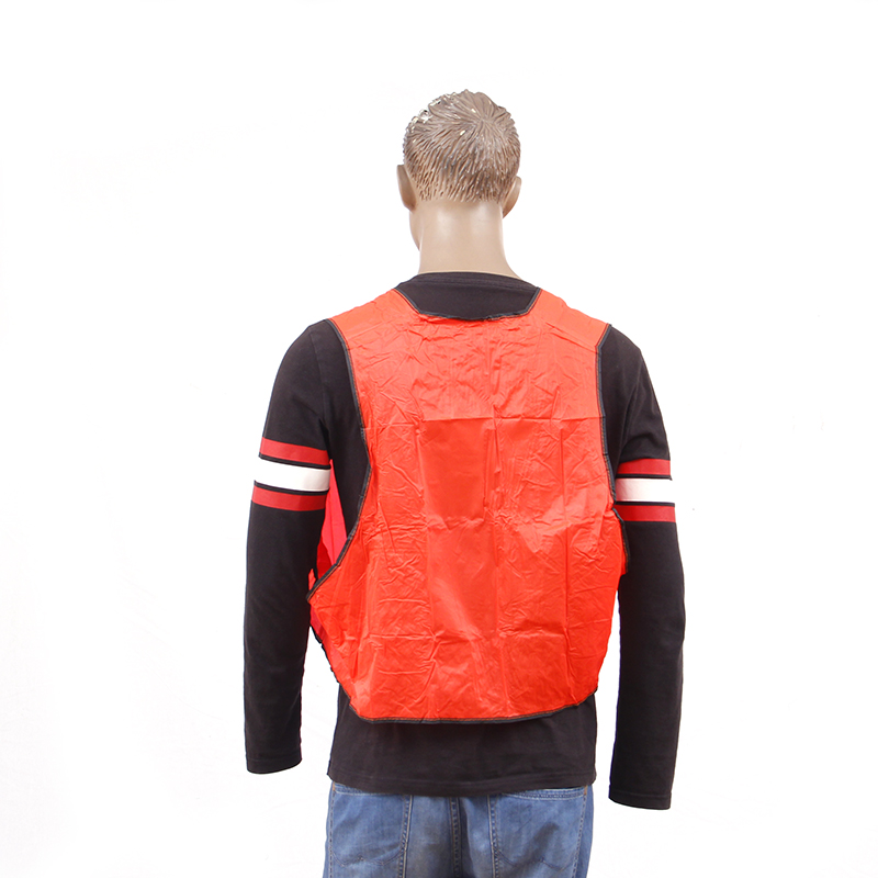 Cheapest Stock Color PVC <strong>Orange</strong> Safety <strong>Vest</strong>