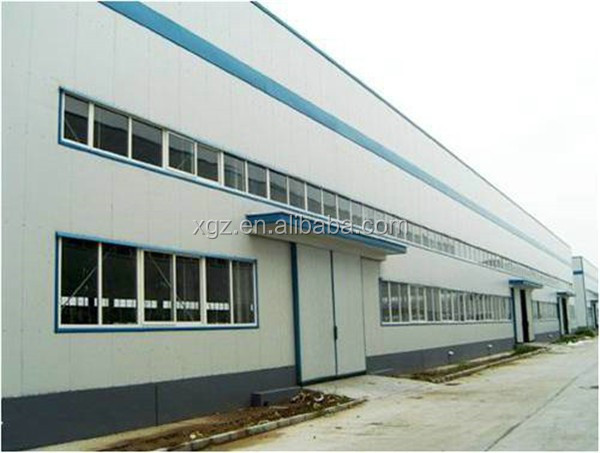 anti-seismic bolted connection prefabricated car workshop
