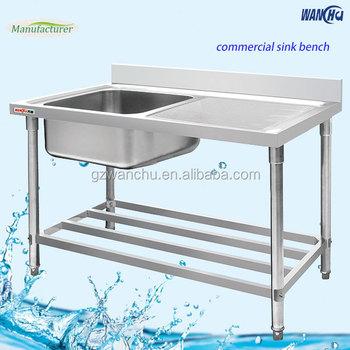 Fregadero mesa nuevo diseño plato doble fregadero de acero inoxidable con  escurridor cd98d0eb20dd