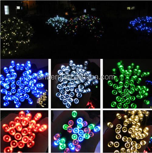 Rgb Or Single Color Led Fairy Light Ip44 Waterproof 10m 100leds ...