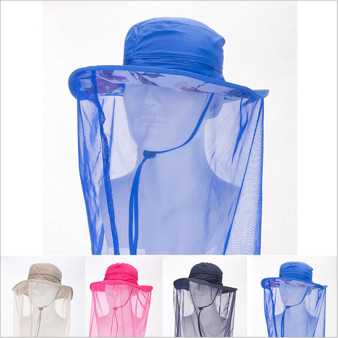 Get Quotations · 2015 Summer Casual Men Women Outdoor Sun Hat Breathable  Anti-UV Anti-Mosquito Bucket 162d5f2831bd