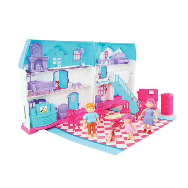 Toys & Hobbies New Pink Plastic Walker For Doll House Dollhouse Miniature Accessories To Win A High Admiration And Is Widely Trusted At Home And Abroad. Furniture Toys