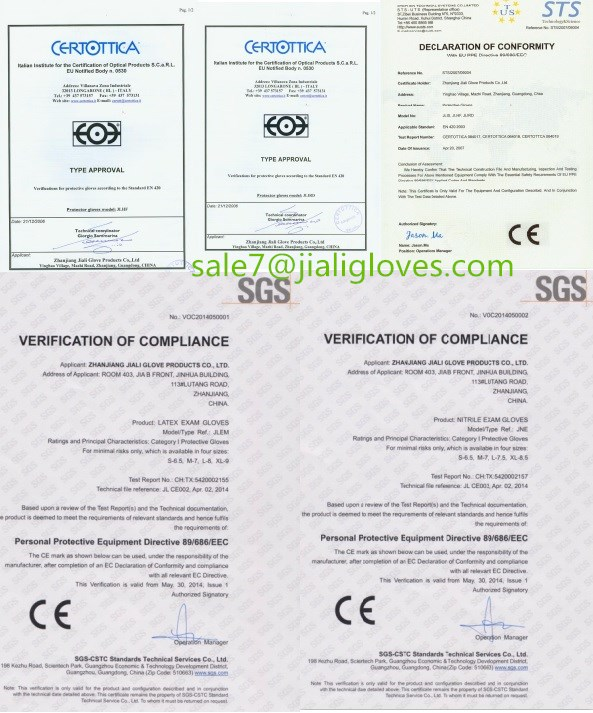 30 cm caldo di Lattice per la pulizia Guanti/guanti di gomma con fodera in cotone all'interno/lungo polsino guanti in lattice per uso domestico CE FDA SGS ISO9001