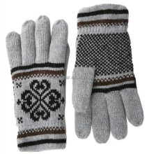 2016 Fashion Wool Knitted Winter Gloves Cheap Gloves