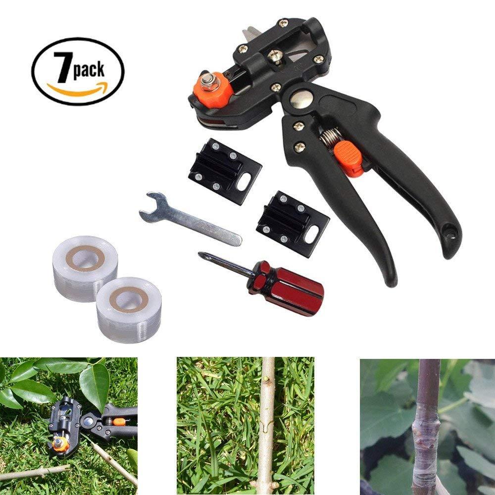 Grafting Cutting Tools Set Pruning Shears Scissor For Garden Nursery Fruit Tree