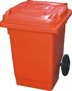 Outdoor 60l Plastic Waste Container