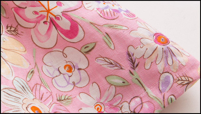 d2fe420d86 Digital Printed 100% Linen Frock Design For Baby Girl - Buy Frock ...
