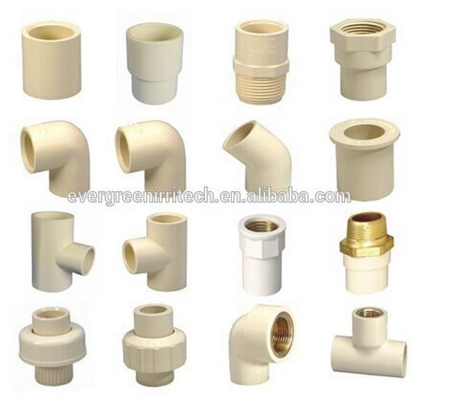 Hot cold water pipe system astm d2846 cpvc pipe fitting for Cpvc hot water