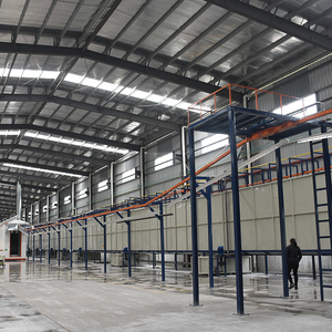 Fully automatic electrostatic phosphating pretreatment powder coating production line spray production pretreatment