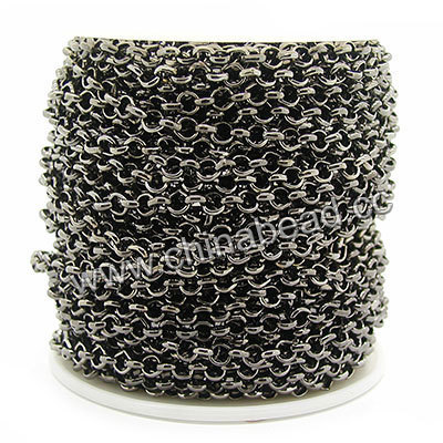 top quality decorative chains for clothes 6mm chain top quality iron chain - Decorative Chain