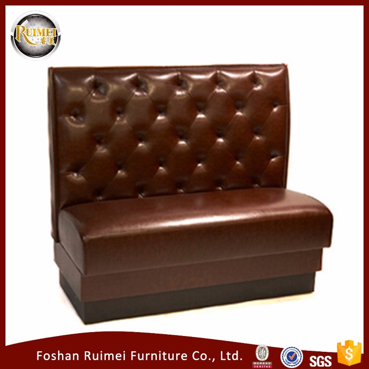Hot Sale modern leather fast food mexican style restaurant furniture