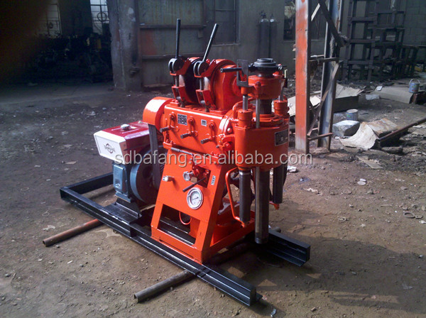 100 m depth XY-100 type water well drilling rig machine drilling rock machine