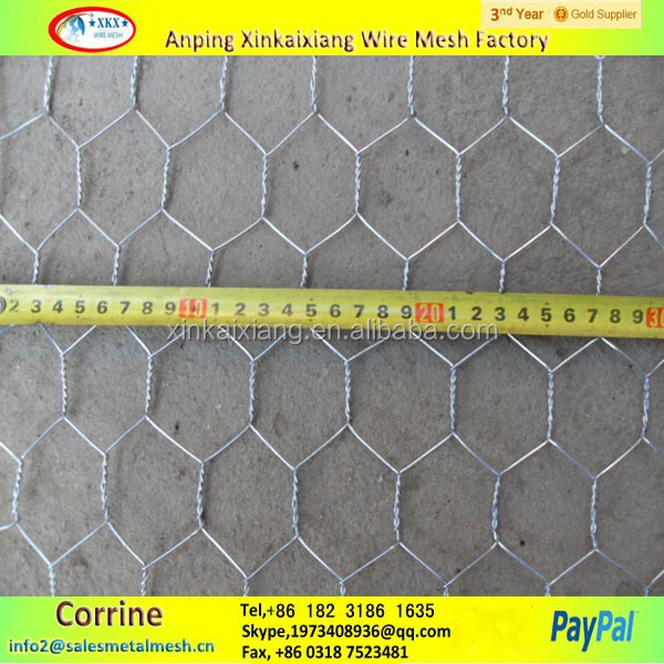 China Factory Price Lowes Chicken Wire Mesh Roll 1 Inch Galvanized ...