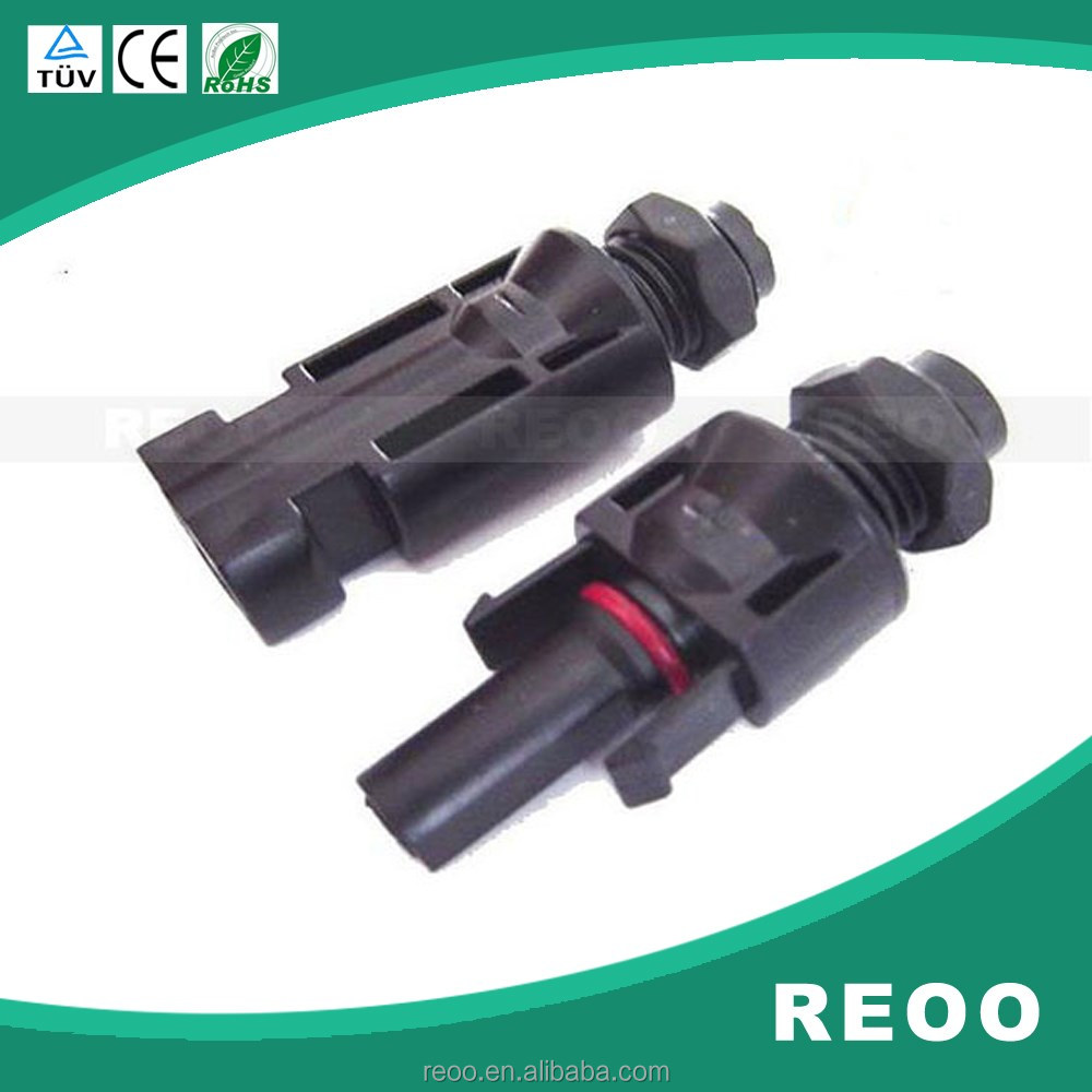 REOO RO-1 P solar panel cable and junction box connector MC4