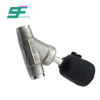 Exquisite workmanship durable sanitary stainless steel Angle Seat Valve