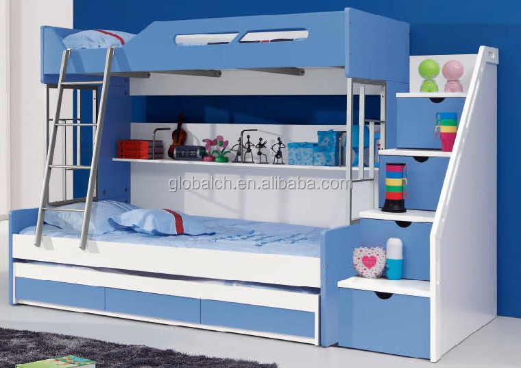 kinder m bel etagenbett betten mit schubladen und treppen kinderbett produkt id 60240131376. Black Bedroom Furniture Sets. Home Design Ideas