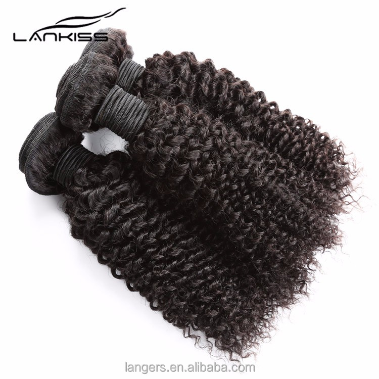 No Chemical Treatment 100% Human Raw Unprocessed Virgin Indian Curly Hair