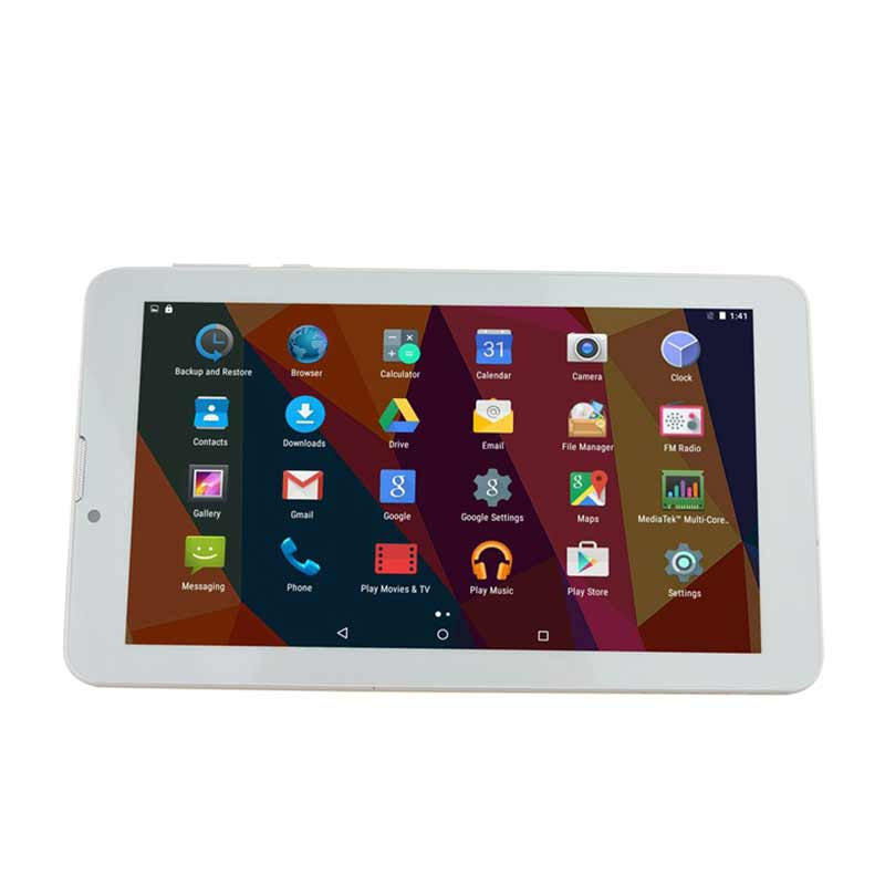 Thông minh dual core 4 Gam 8 GB với video audio player 7 inch android tablet