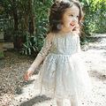 2016 New Summer Girls Dress Baby Clothing Kids Dresses For Girls Wedding Dress Children Clothing Fashion
