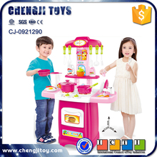 kids cooking set deluxe cookhouse toys electronic light and water kitchen game