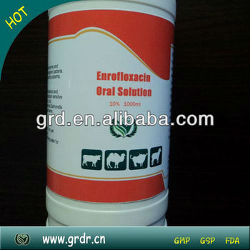 Enrofloxacin Oral Solution 10% 1000ml