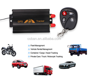 Realtime Gps Gsm car tracker TK103 GPS103A B vehicle locator google maps tracking system