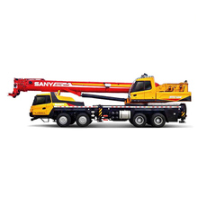 Brand <span class=keywords><strong>New</strong></span> Sany 55 ton Camion Gru Discarica Camion con Gru STC550