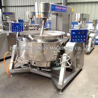 China factory supply industrial automatic nougat candy cooking kettle with mixer