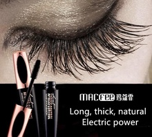 New Makeup Eye lash Black waterproof Waterproof Volumizing 4D Silk Fiber EyeLash Mascara