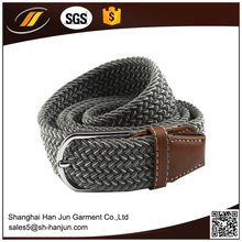 2017 fashion good quality stock stretch belt with alloy buckle