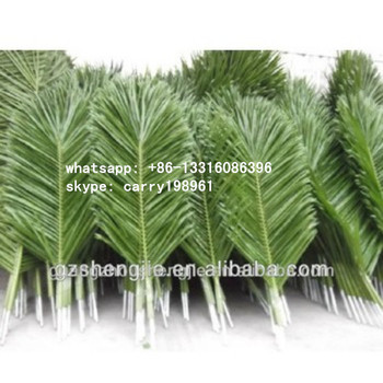 Lxy071908 Fake Coconut Palm Leaves Roof Cheap Artificial Palm Tree Leaves And Branches - Buy ...