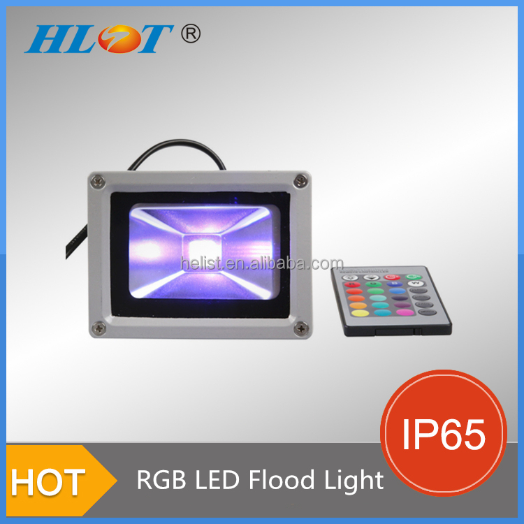 Factory Direct Sale Ip65 Led Outdoor Light Reflector 10w Rgb Flood ...