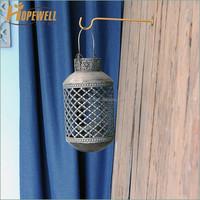Manufacture retro wrought iron hanging lamp lantern
