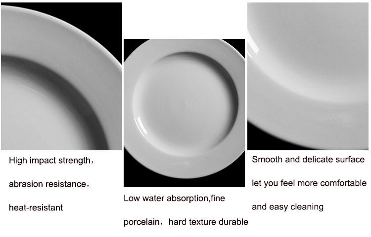 restaurant plates ceramic dinner