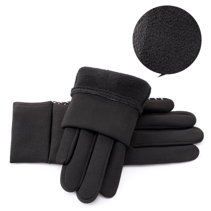 Custom logo sports snow call sport winter waterproof cycling gloves for man