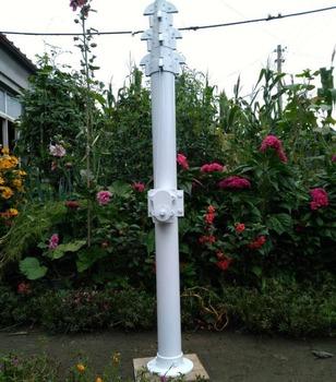 15m 50ft Aluminium Winch Crank Up Telescopic Mast For Tv Antenna - Buy  Crank Up Telescopic Mast,Aluminium Winch Crank Up Telescopic Mast,Winch  Crank