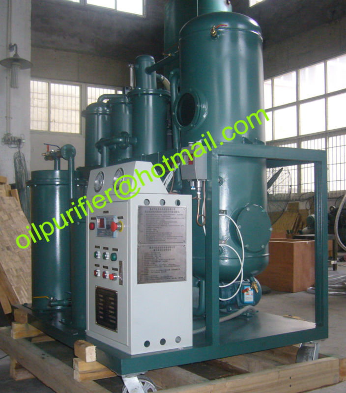 Vaccum Oil Dehydrator Machine, Compressor Oil Purifier