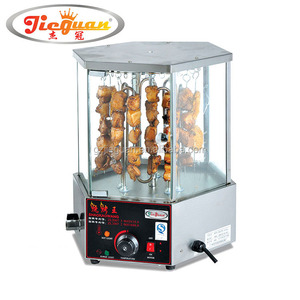 Electric Rotary Mutton/Corn String Roaster