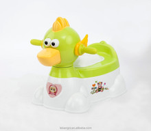 Colorful Portable Squat Toilet/Plastic Animal Squatty Potty Stool/Children Potty GREEN