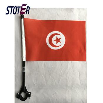 Tunisia Bike Flags With Plastic Pole Custom Bicycle Flags Cheap Print Bike  Flags - Buy Custom,Tunisia,Bike Flags Product on Alibaba com