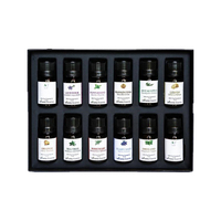 Private Label 100% Pure Natural Aromatherapy Essential Oils Gift Set 12 Packs OEM