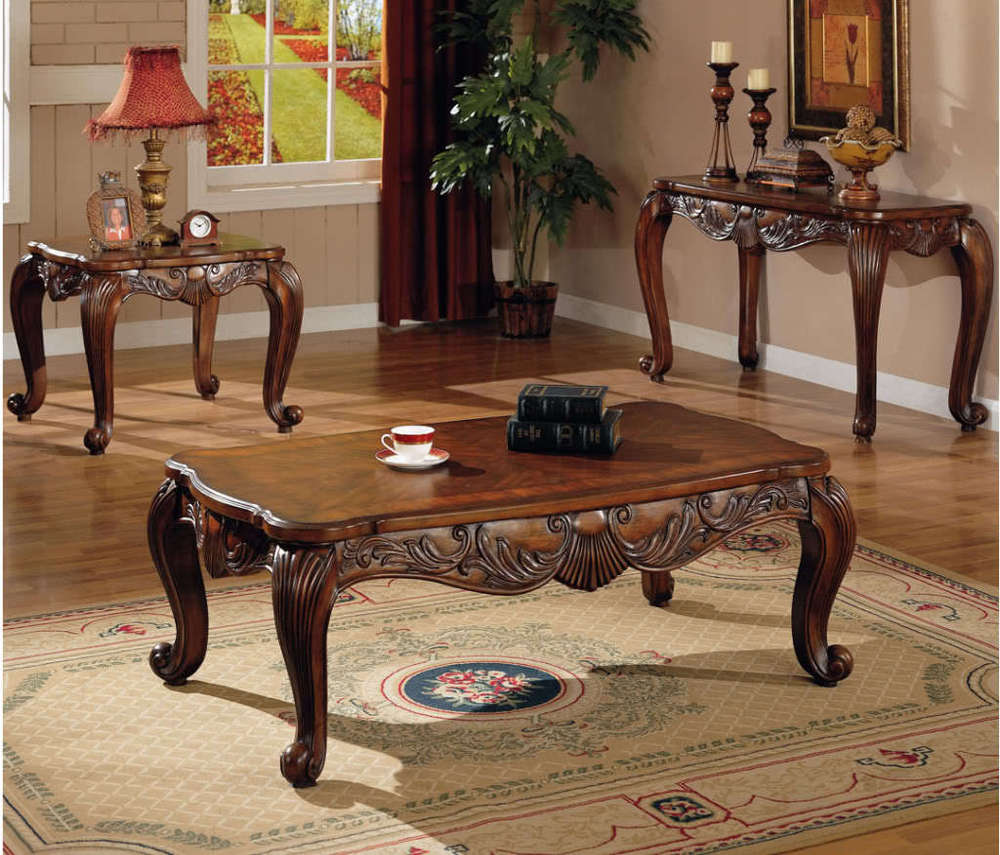 New Design High Quality Antique Wood Center Table