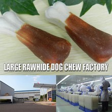 New rawhide product type CH49 Chicken Breast Stem stem cell products knotted rawhide pet snack Beef blueberry cake