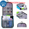 Large waterproof Hanging&folding make up cosmetic travel toiletry Bag