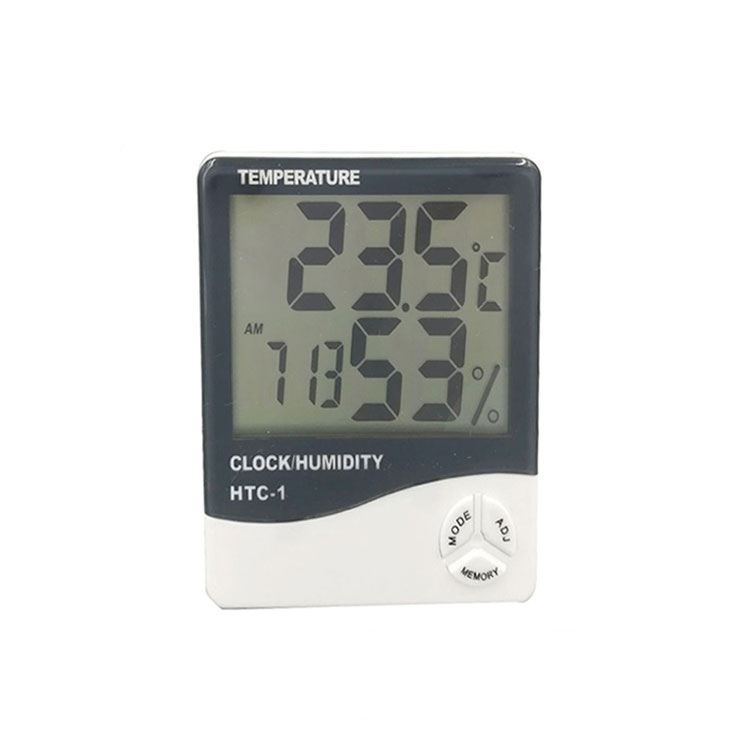 HTC1 Large LCD display humidity room temperature digital thermometer