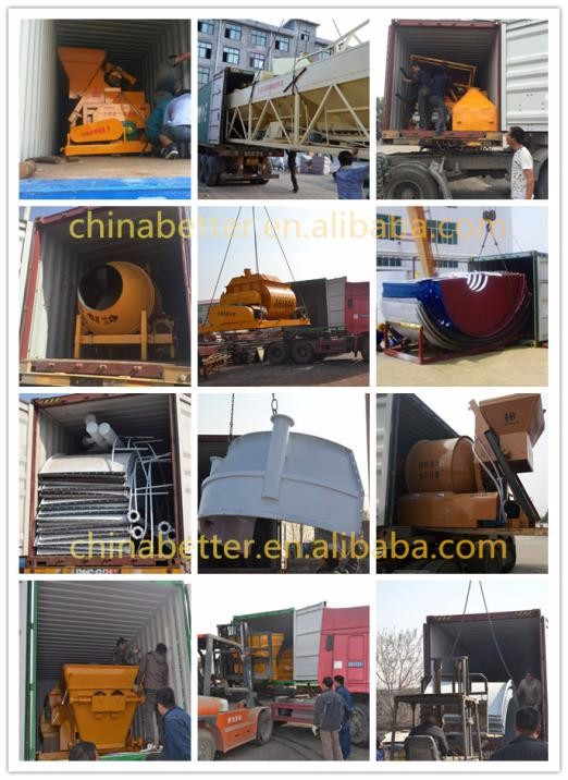 HZS concrete mixer plant for sale