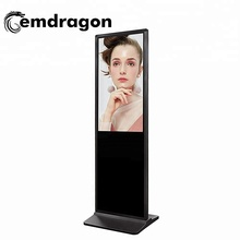 3g ad video player 65 zoll super slim stand kiosk werbung und handy lade station1000 nit lcd monitor
